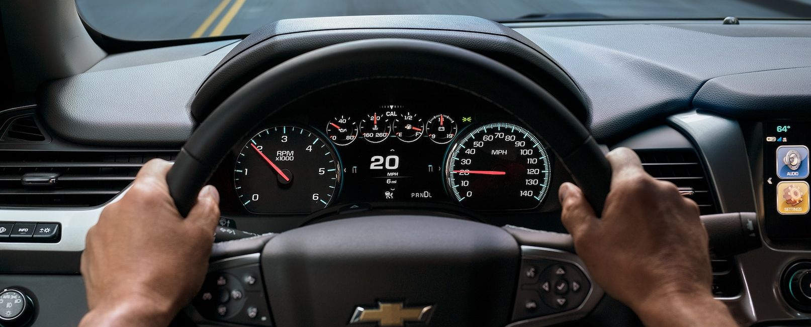 Take Command in the 2019 Tahoe!