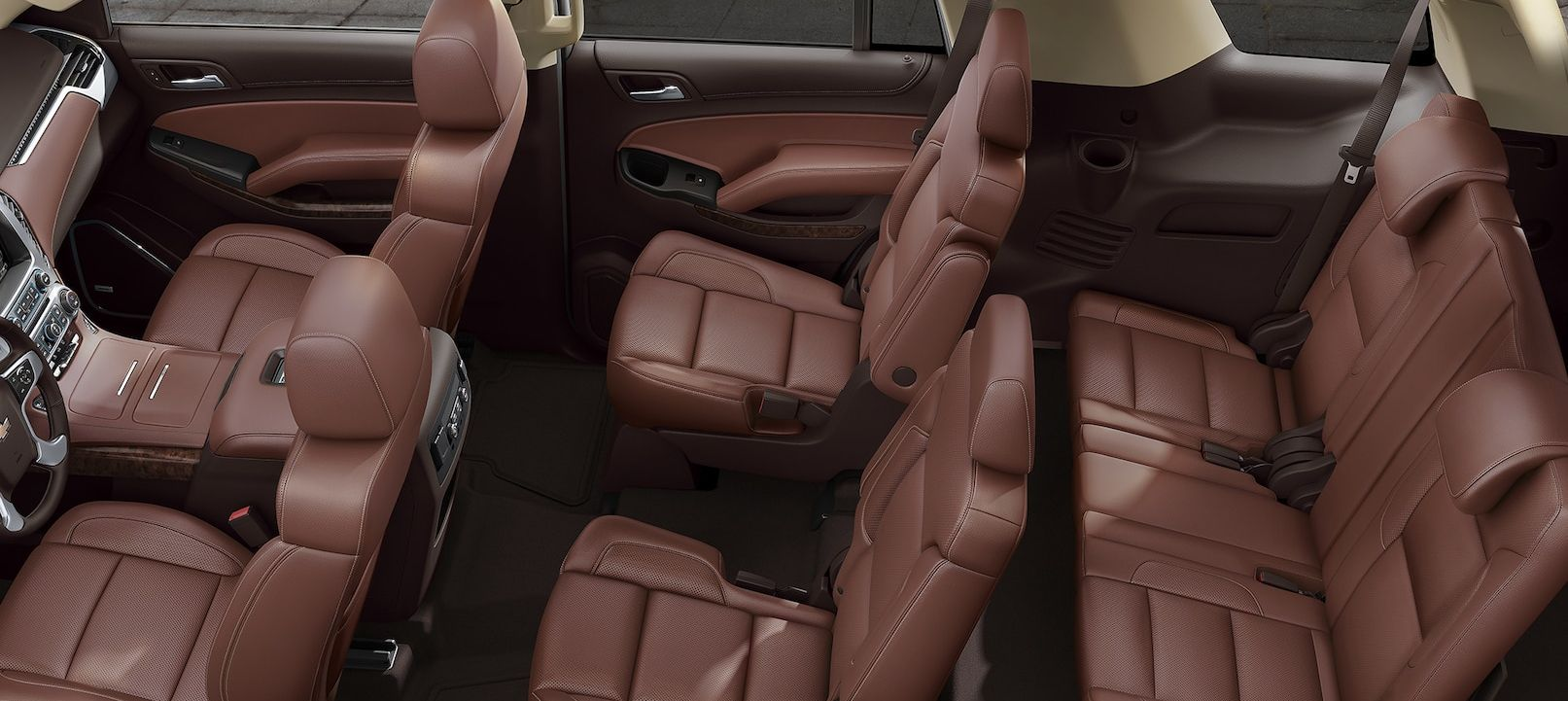 Upscale Interior of the Chevrolet Tahoe