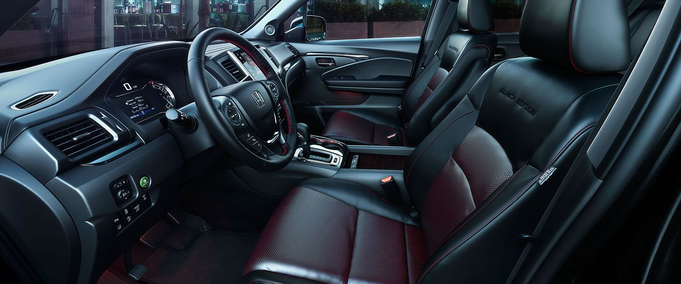 Interior of the Honda Ridgeline
