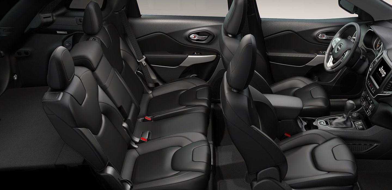 2019 Jeep Cherokee's Spacious Seating