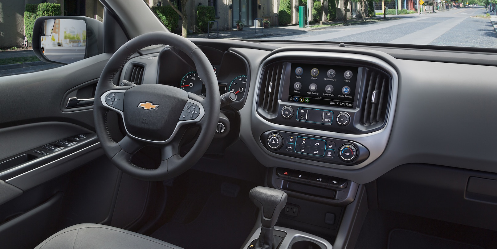 Take Command in the Chevrolet Colorado!