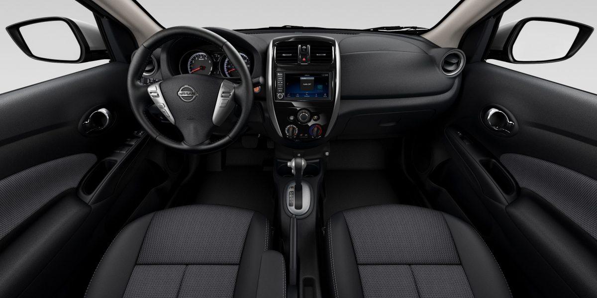Interior of the 2019 Nissan Versa