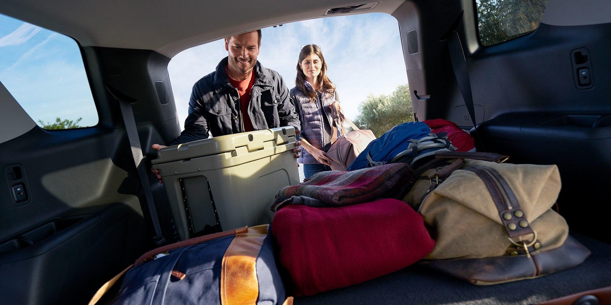 2019 Chevrolet Traverse Storage Space