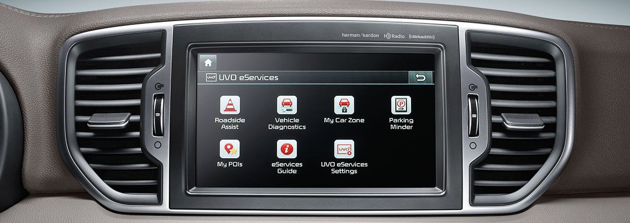 Infotainment in the 2019 Kia Sportage