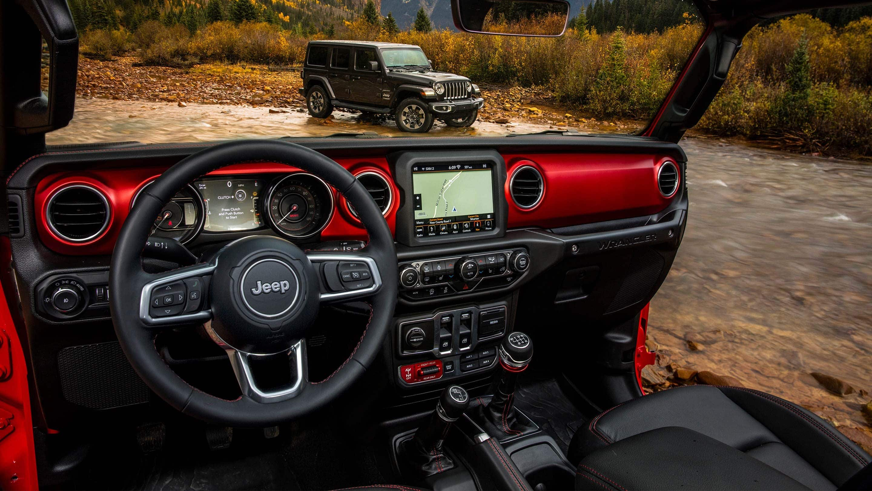 Landmark Dodge Chrysler Jeep Ram Blog 2009 Wrangler Rubicon V6 38 Liter Gas Radiator Components The Testing Staff From Car And Driver Thought That Look On 2018 Is Appropriately Modern Still Rugged Ranked 84 Inch Touchscreen As Easy