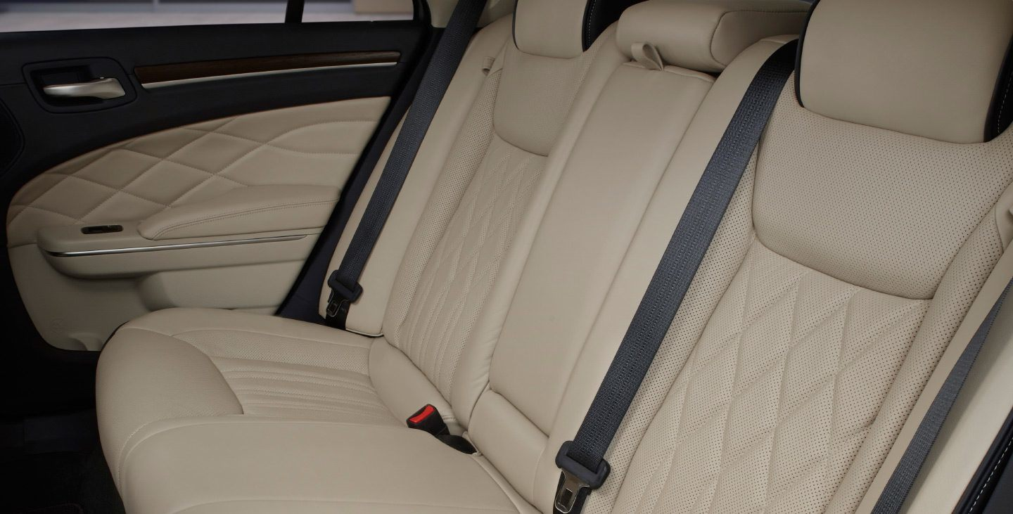 2019 Chrysler 300's Comfortable Seating