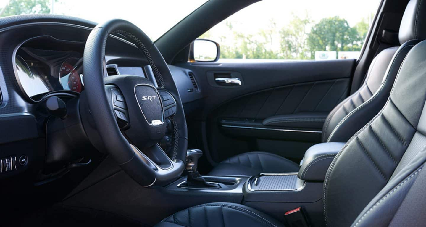 Interior of the 2018 Dodge Charger