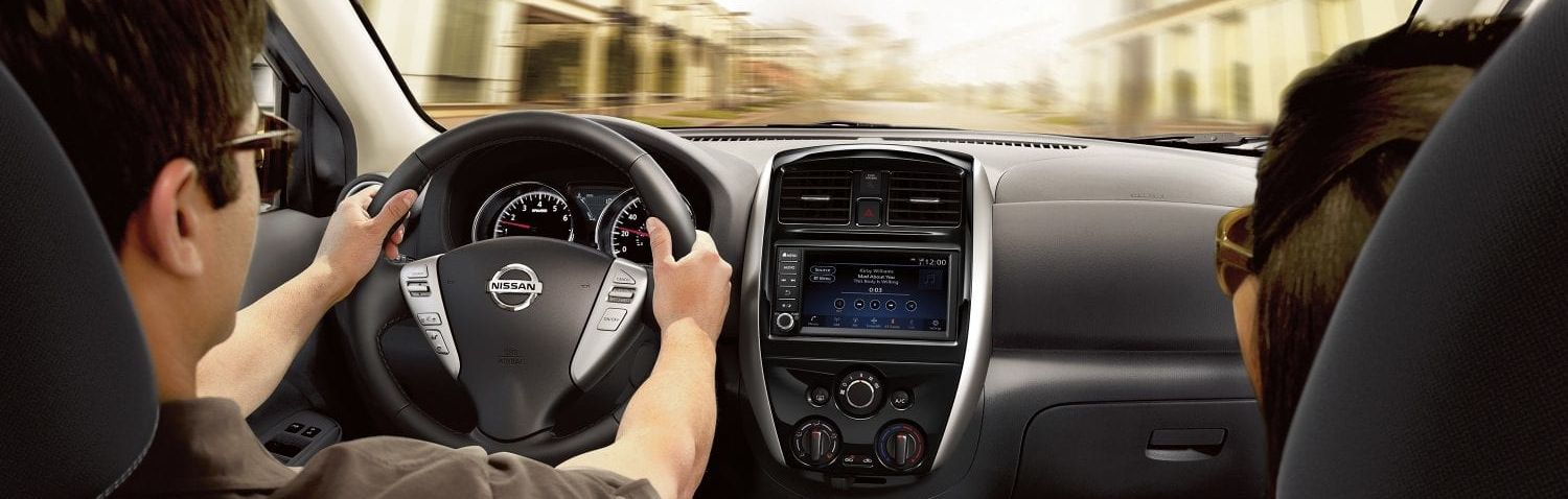 Enjoy the Drive in the Nissan Versa!
