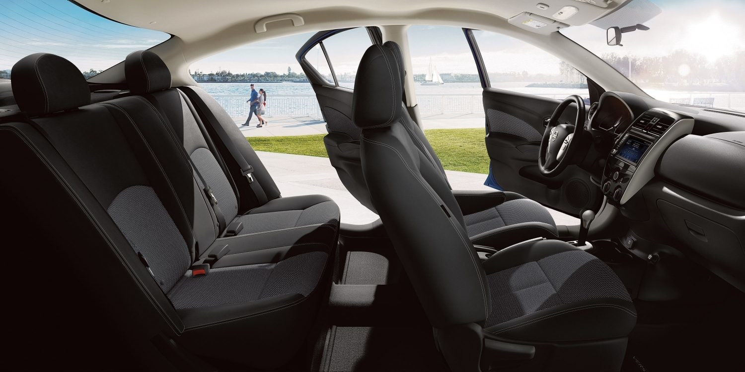 Spacious Cabin of the 2019 Versa