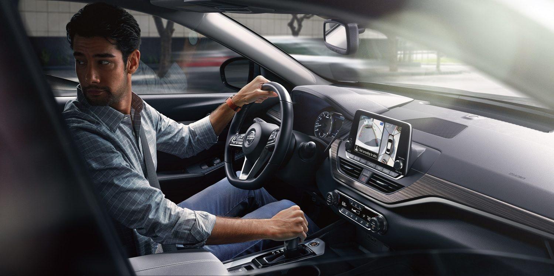 2019 Nissan Altima Vs Kia Optima Near Hoffman Estates Il Rotate Tires Interior Of The