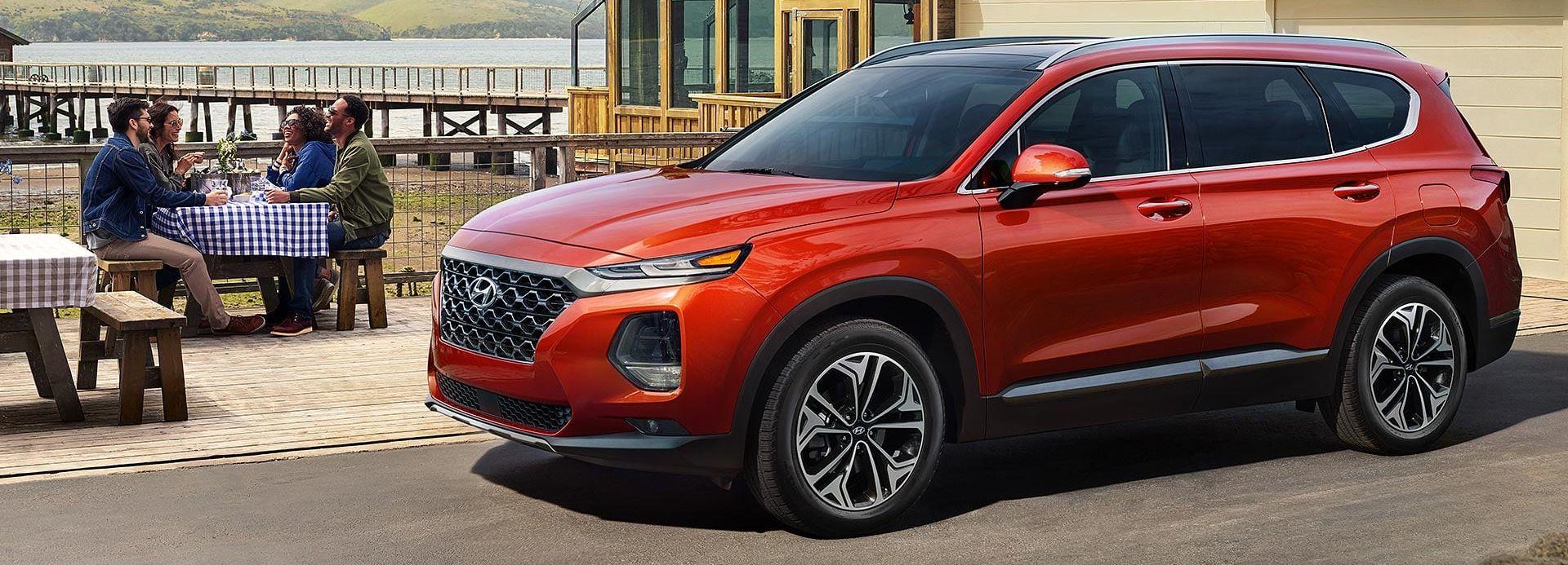 2019 Hyundai Santa Fe Leasing near Springfield, VA