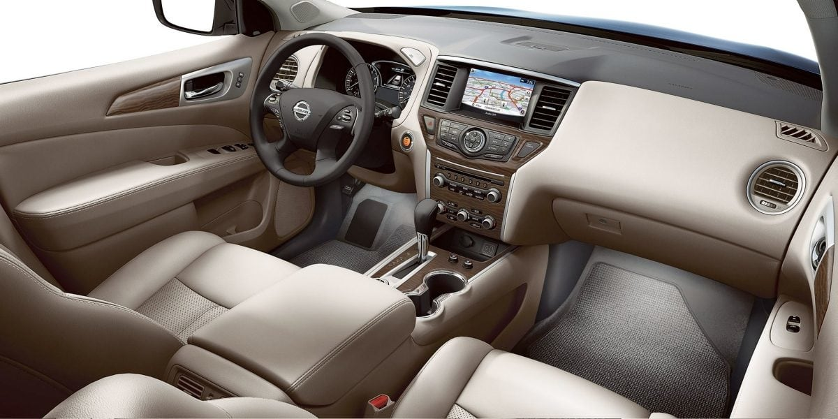Interior of the 2019 Nissan Pathfinder