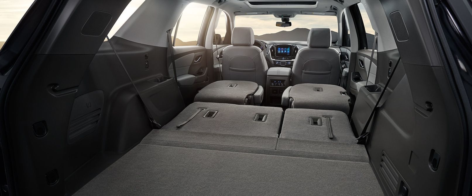 Cargo Space in the Traverse