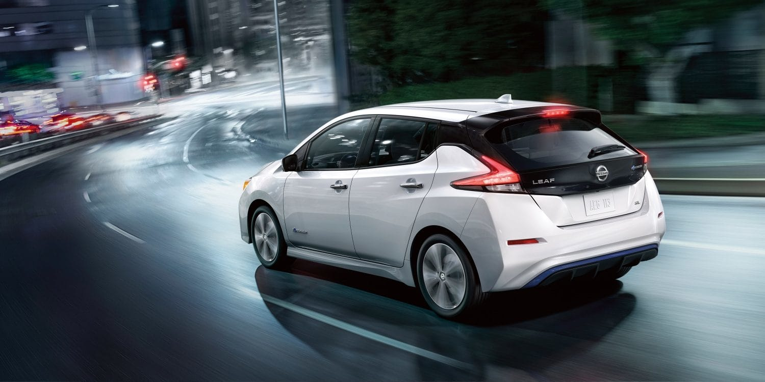 2019 Nissan LEAF Features in Milford, MA