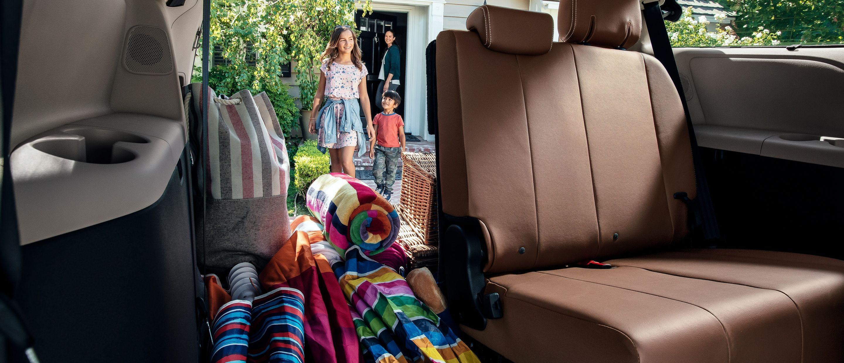 Customizable Capacity in the Sienna!