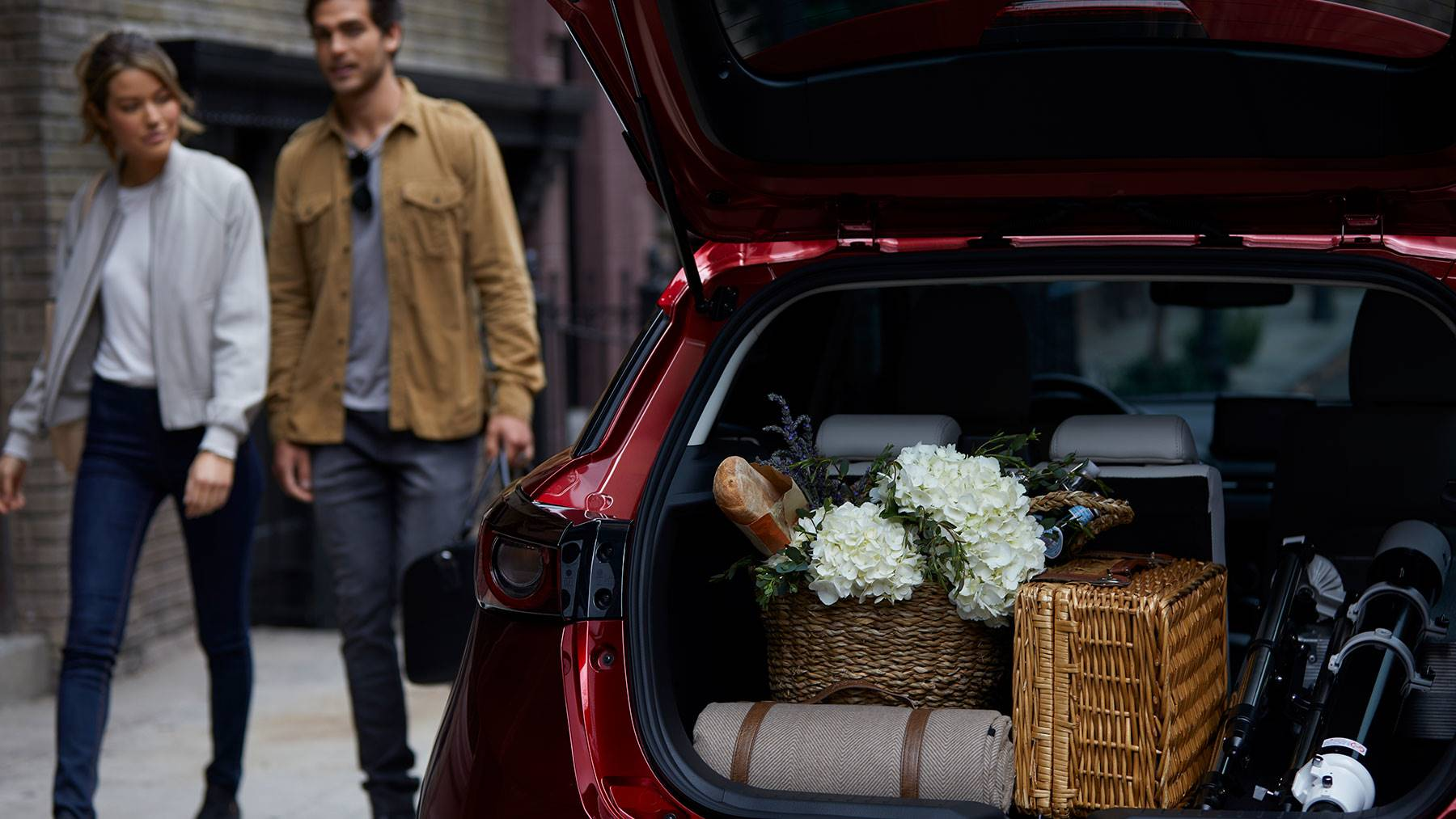 Store all Your Gear in the Mazda CX-3!