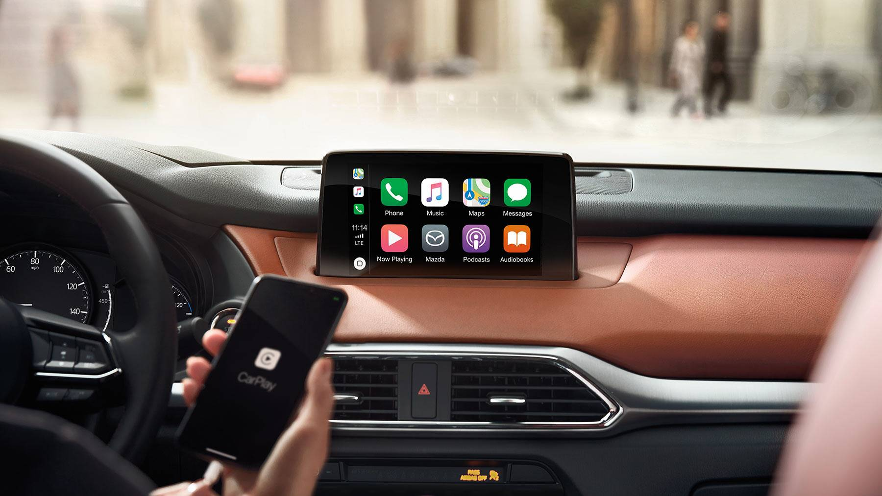 All Your Media at Your Fingertips in the Mazda CX-9!