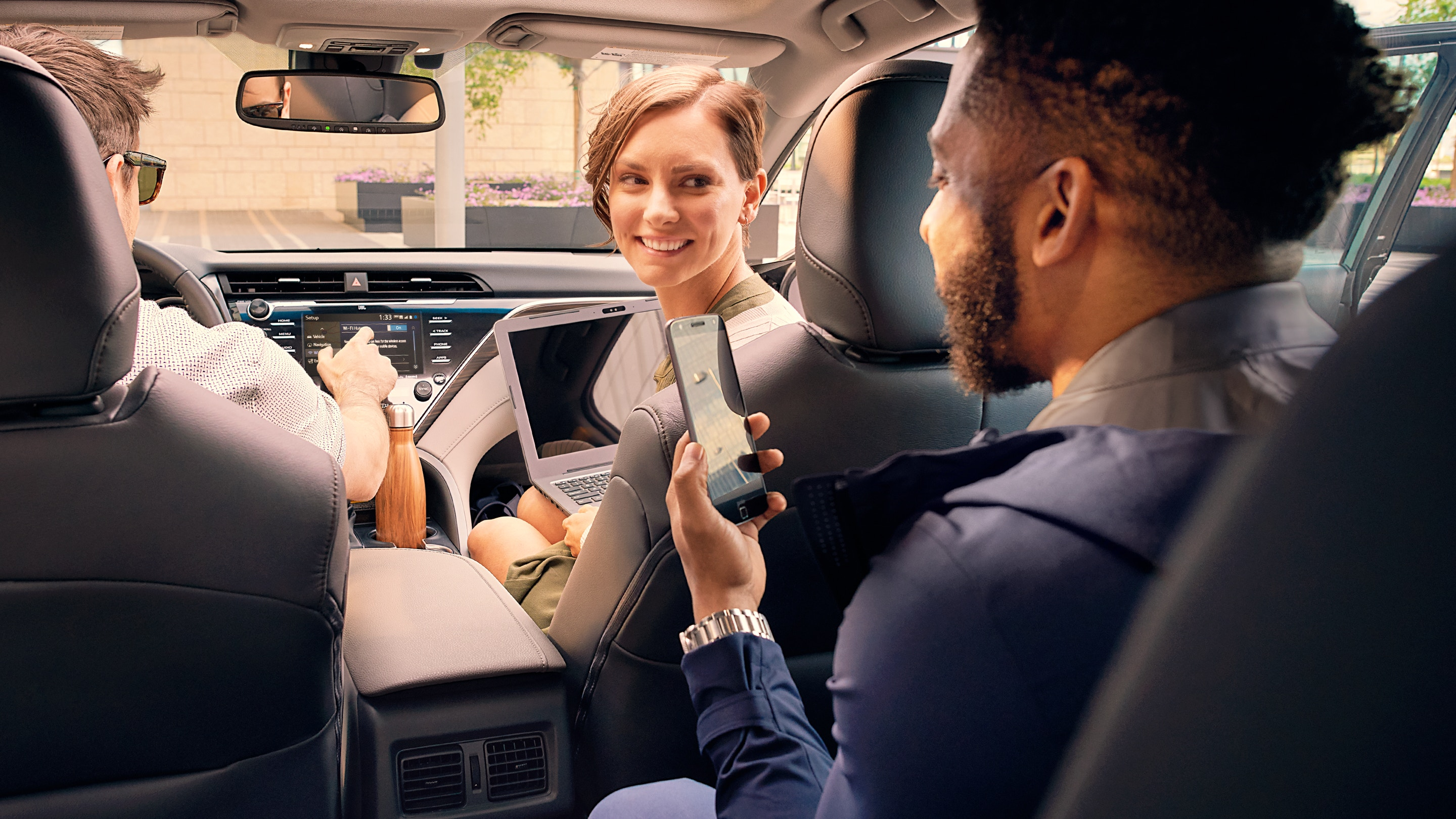 Easy Connectivity in the Camry
