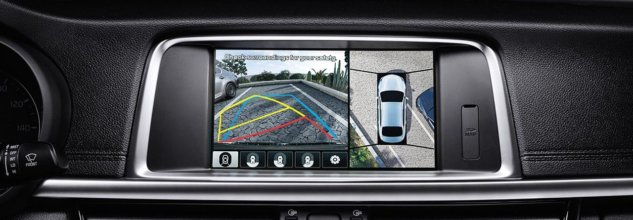 2019 Kia Optima's Parking Assist