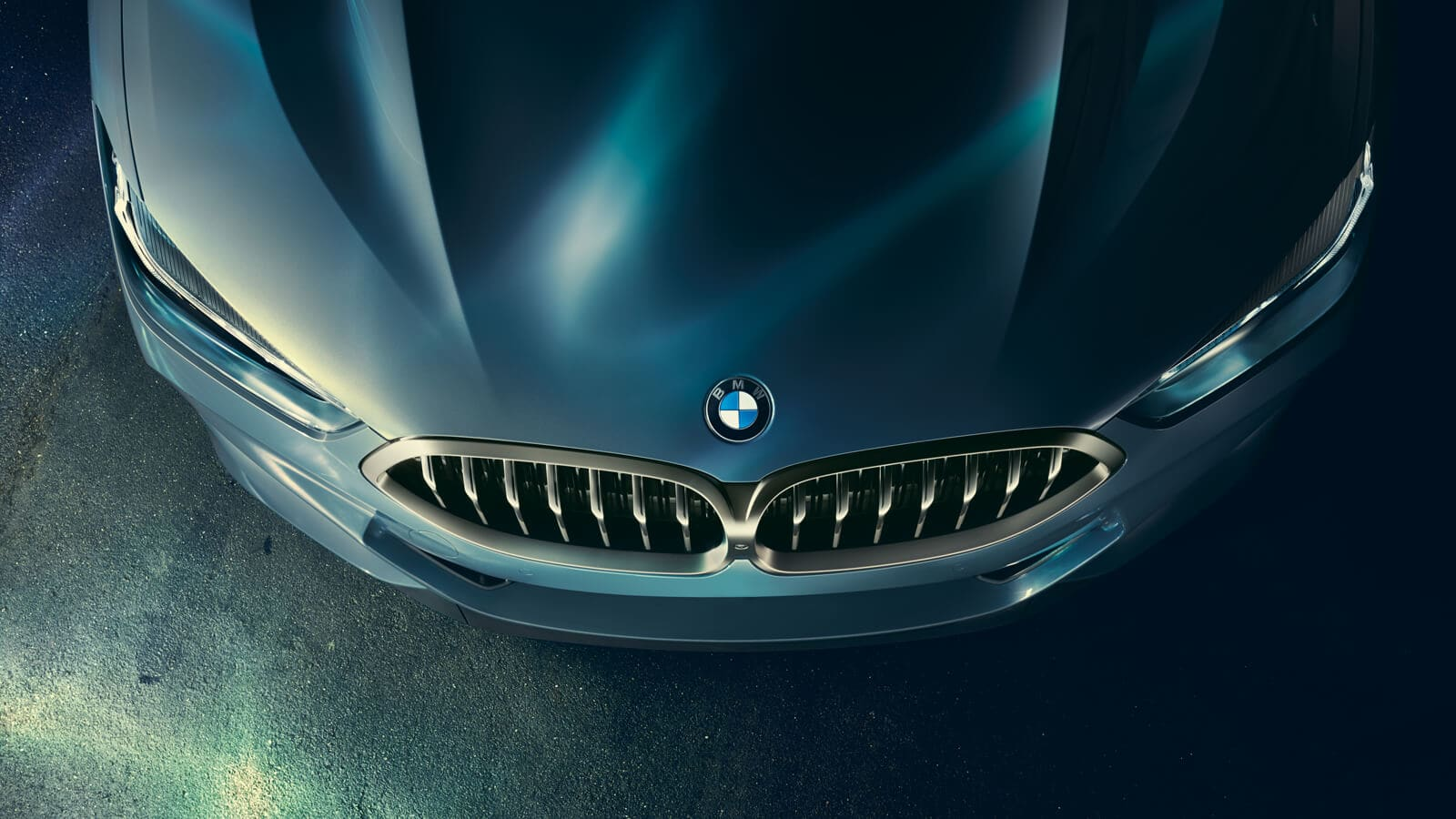 Automotive Body Shop Collision Paint Repair - Classic BMW