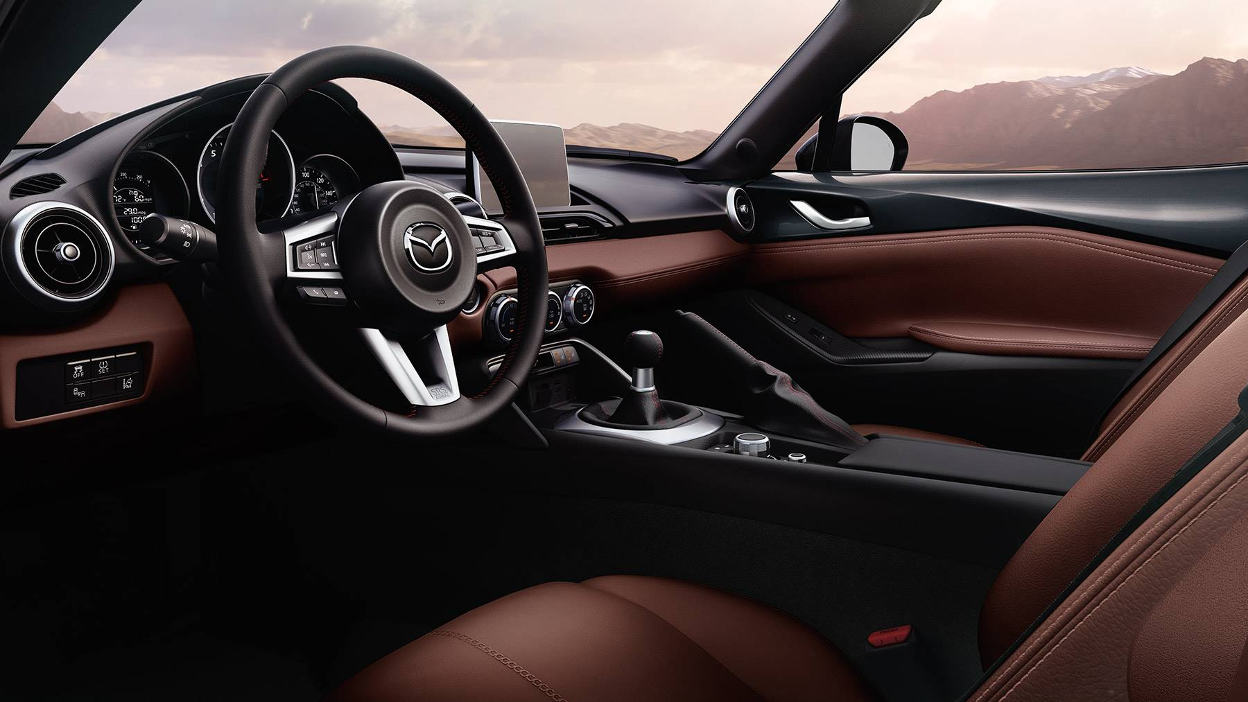Advanced Cabin of the 2018 Mazda MX-5 Miata