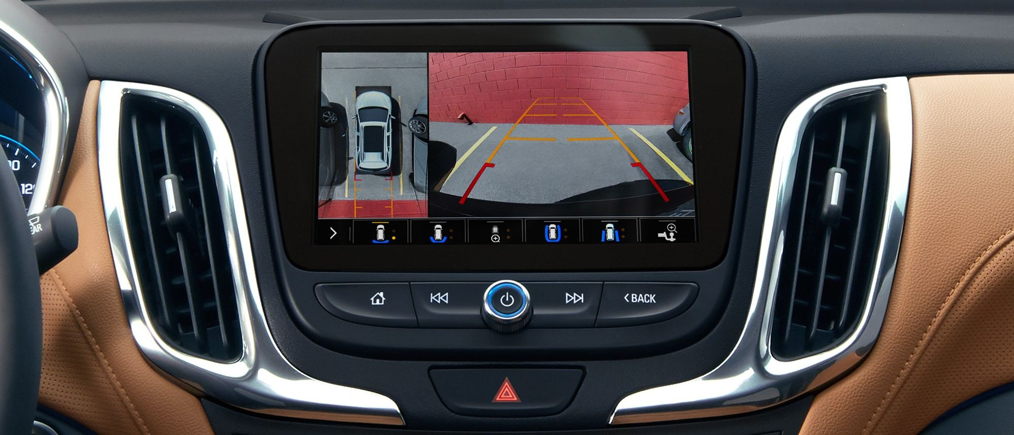 The Equinox's Helpful Rear Vision Camera