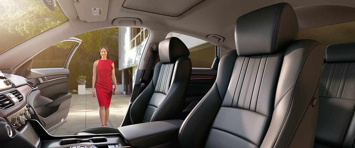 Interior of the 2018 Honda Accord