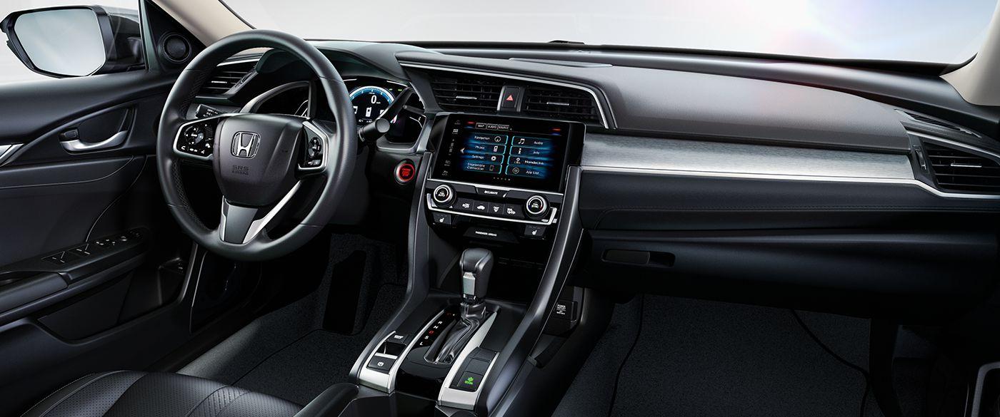 Interior of the 2018 Honda Civic