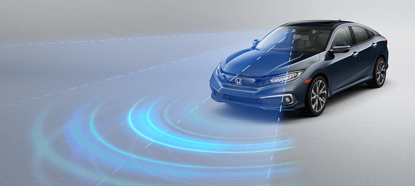 Honda Sensing Technology!