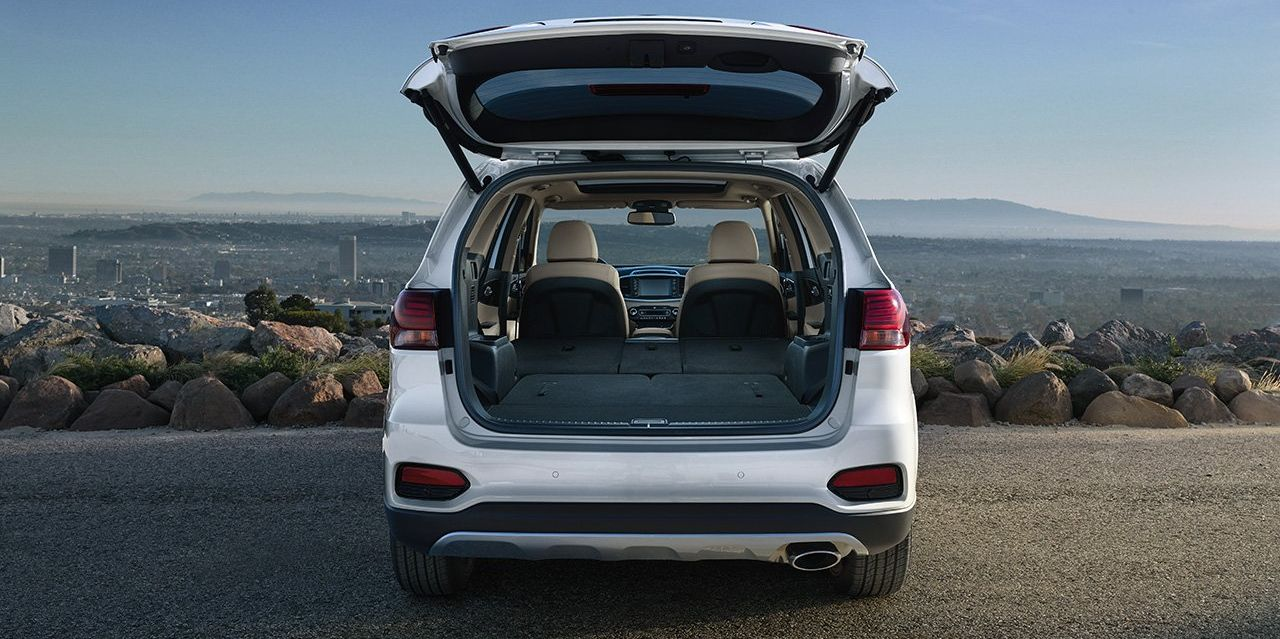 Cargo Space in the Sorento
