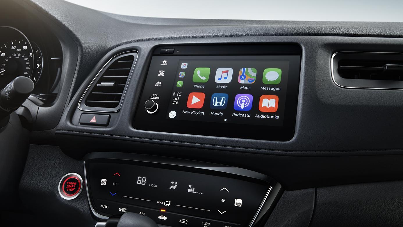 2019 Honda HR-V Center Conole