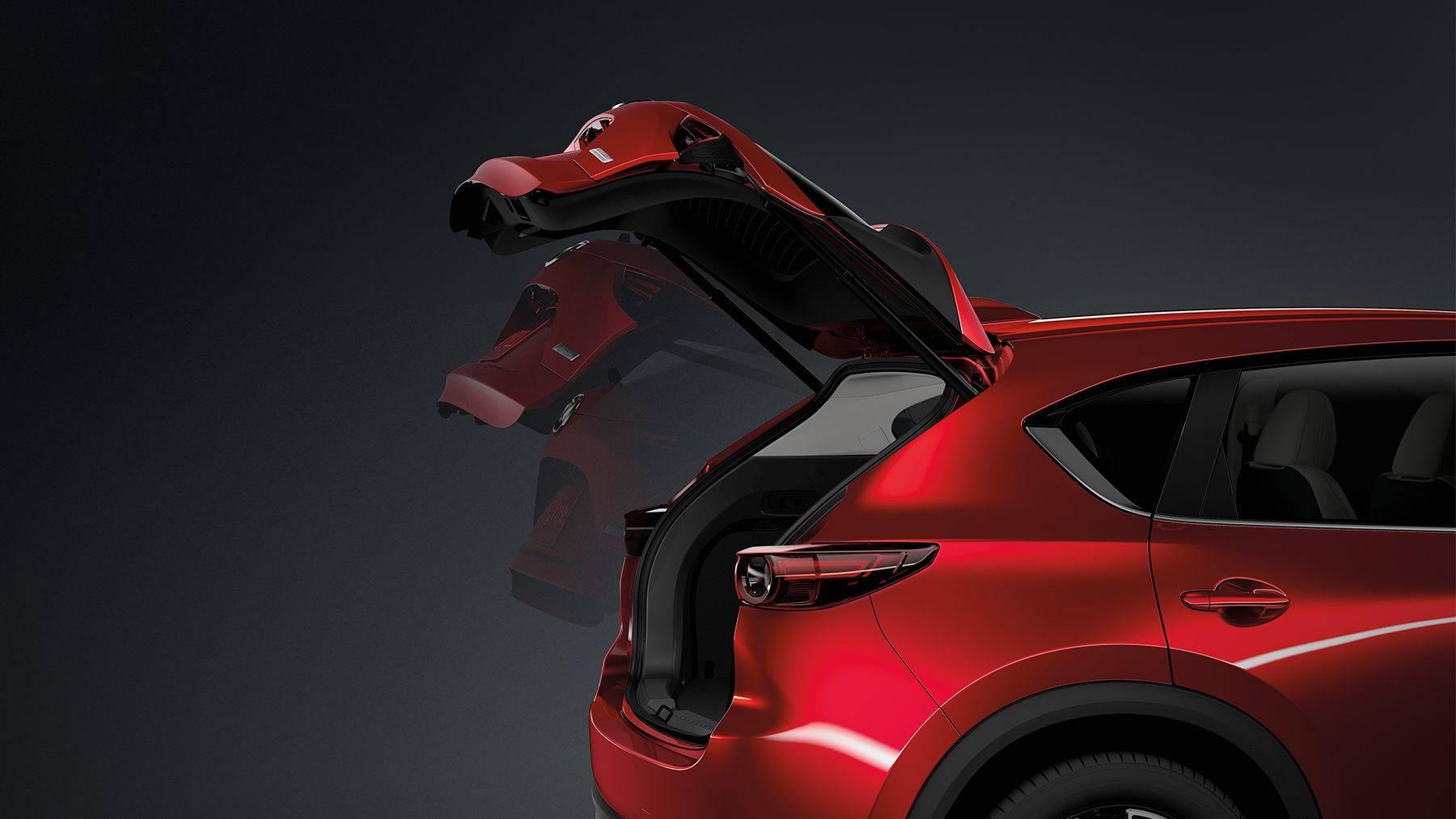 The Mazda CX-5's Rear Power Liftgate