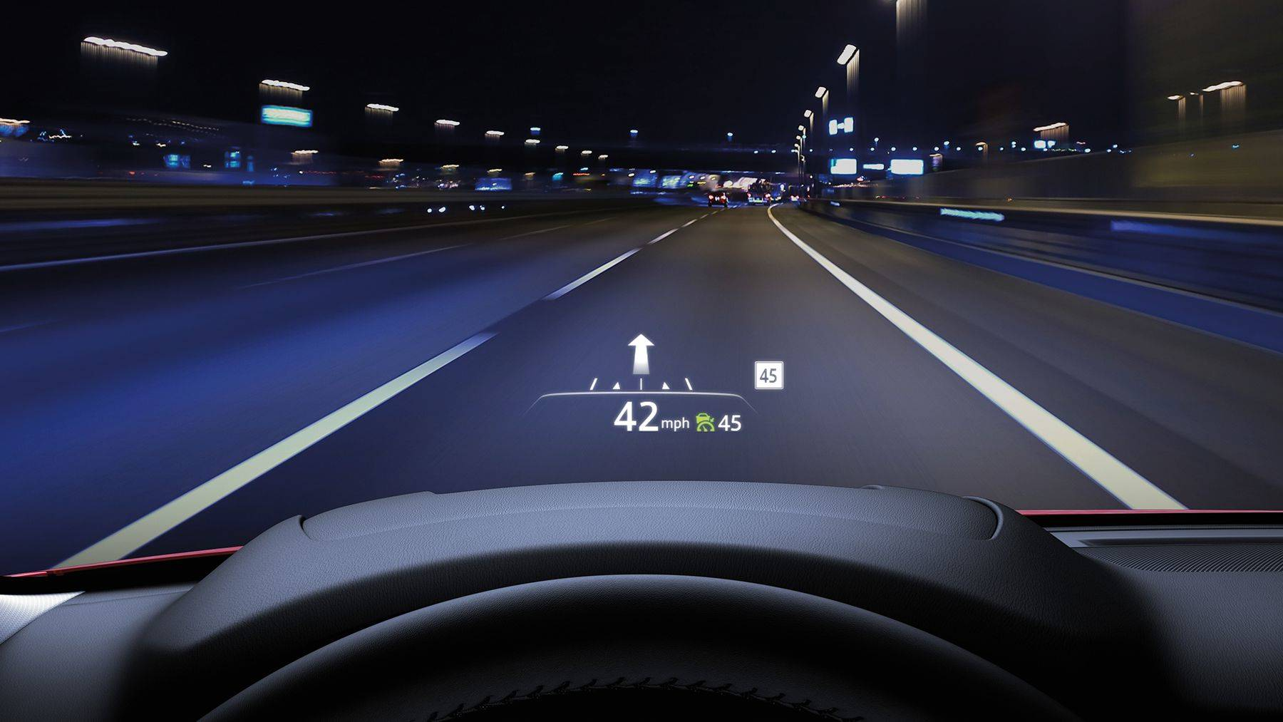 The Mazda CX-5's Cutting-Edge Active Driving Display