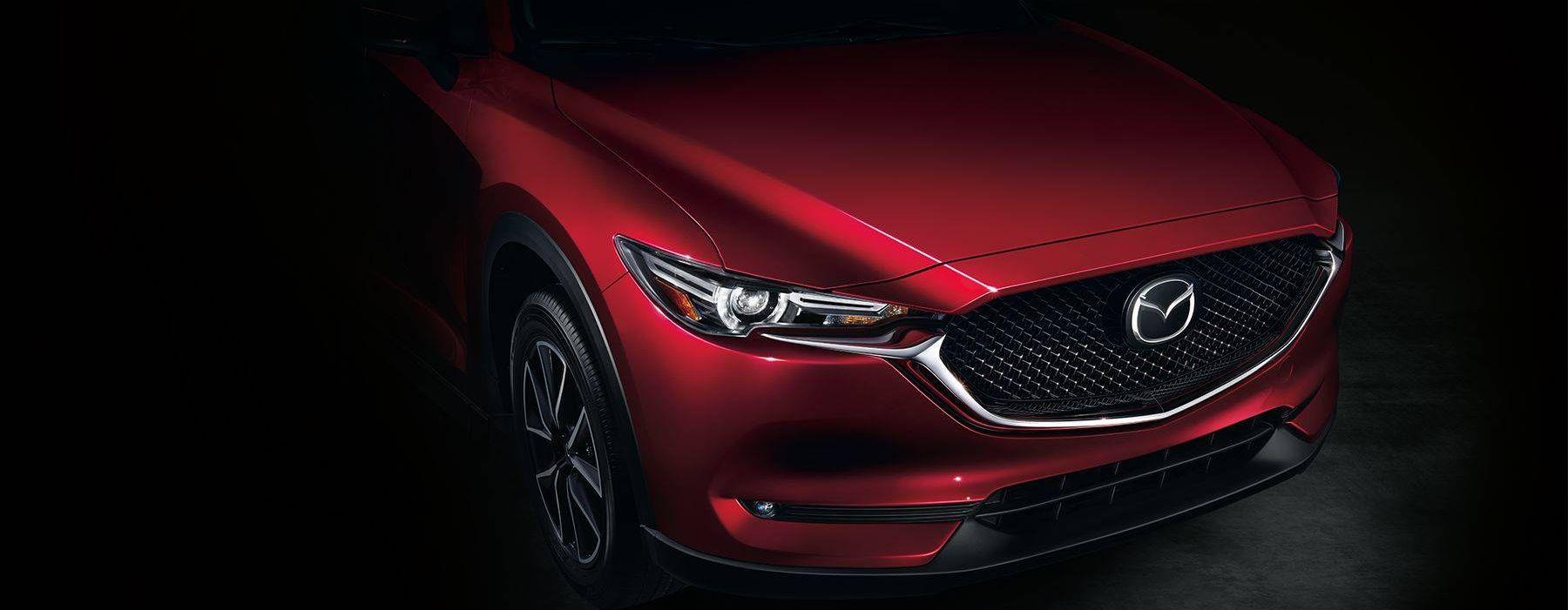 The Mazda CX-5's Bold Front Fascia