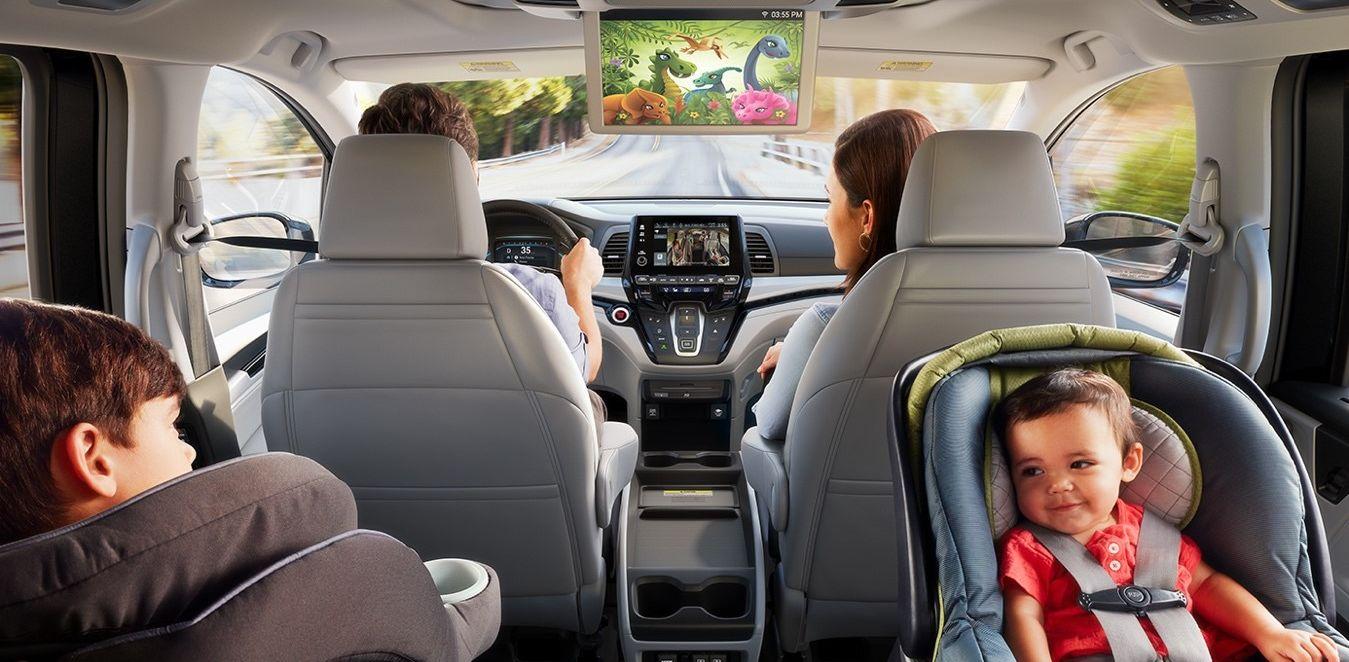 La tecnología Honda CabinWatch™ de la Odyssey