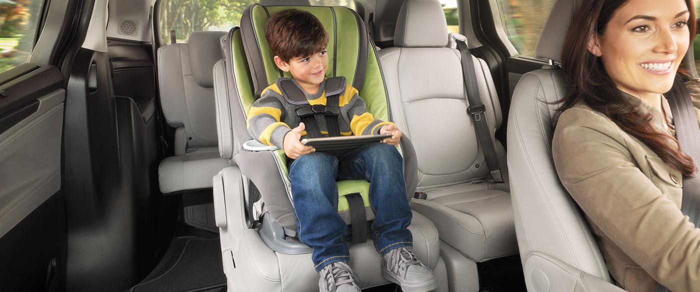 2019 Honda Odyssey Rear Seating