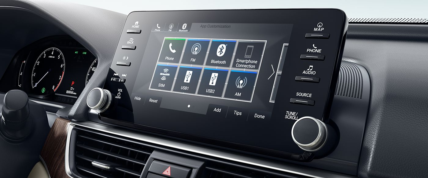 2018 Accord Infotainment Center