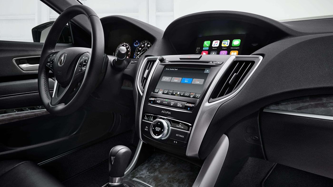 You'll Find All the TLX's Tech in Arm's Reach!