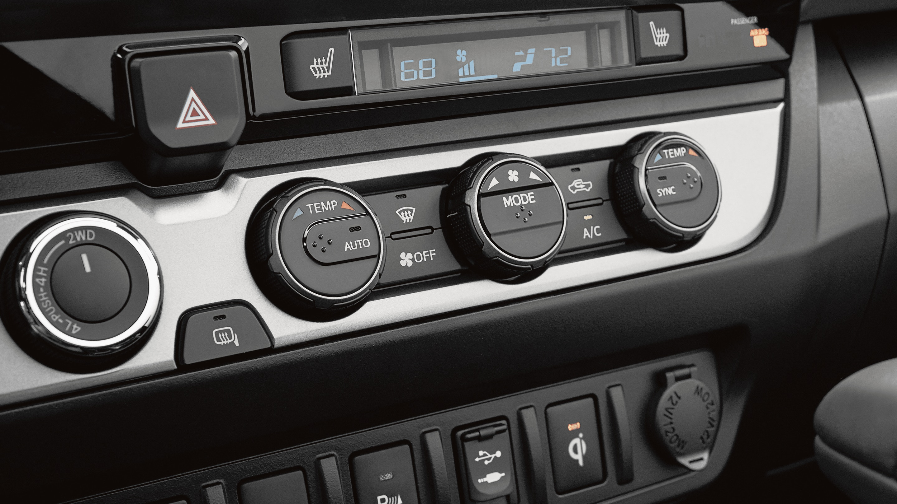 2019 Toyota Tacoma's Available Dual Zone Climate Control