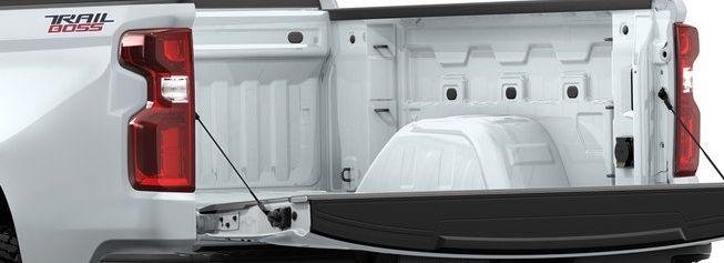 The Silverado 1500's Convenient Tailgate