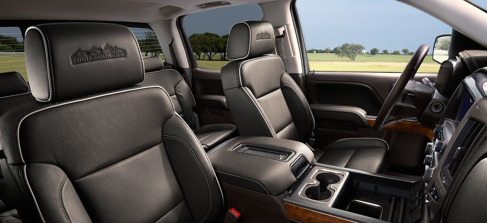 Stylish Seating in the Silverado 1500