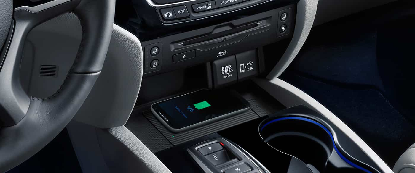 2019 Honda Pilot Wireless Charging