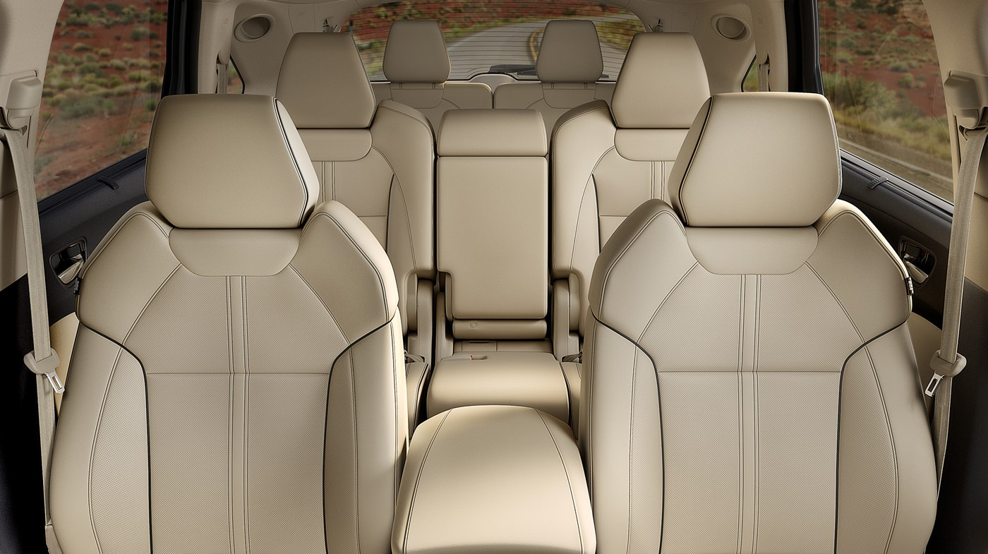 The MDX was Built with Comfort in Mind!