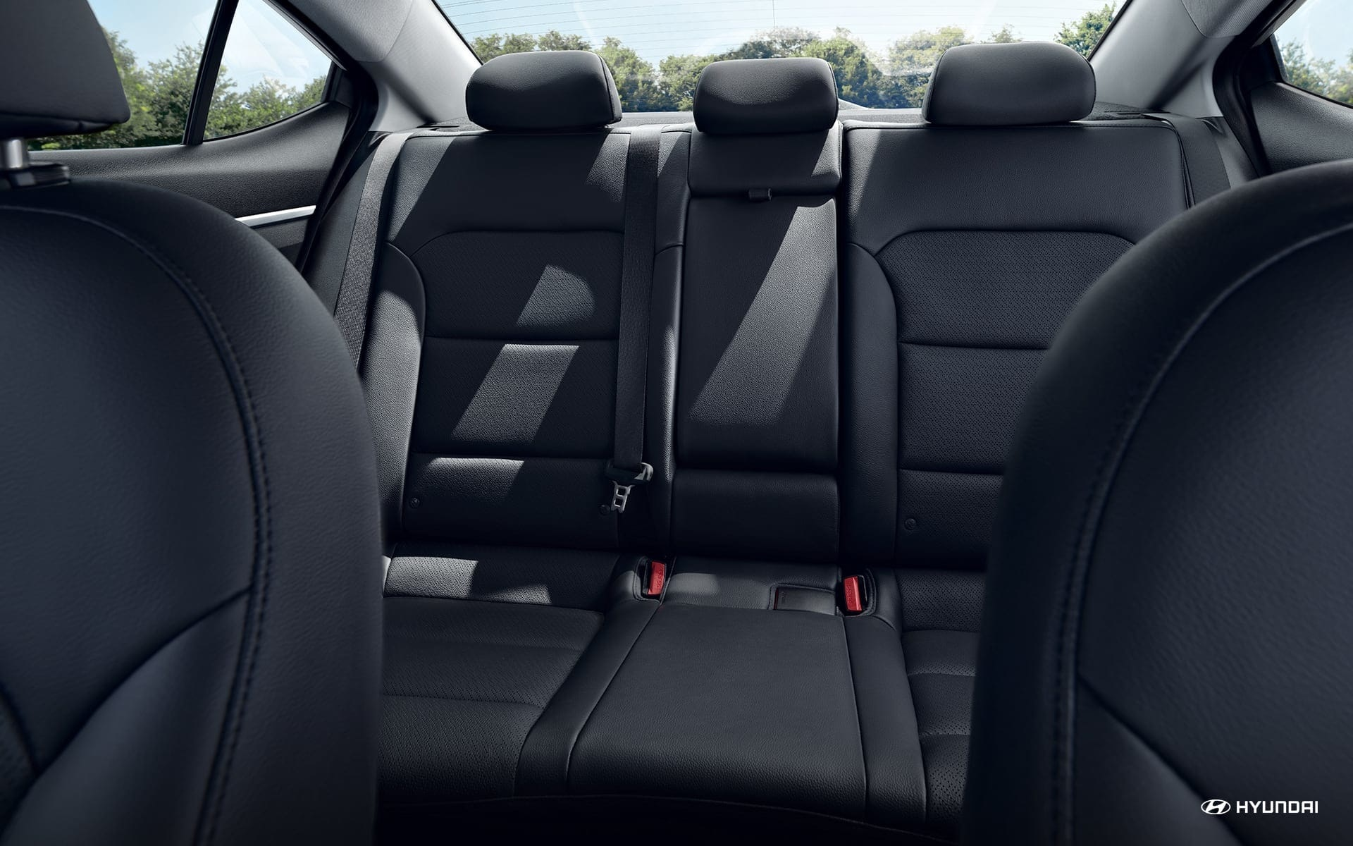 2019 Elantra Rear Seating