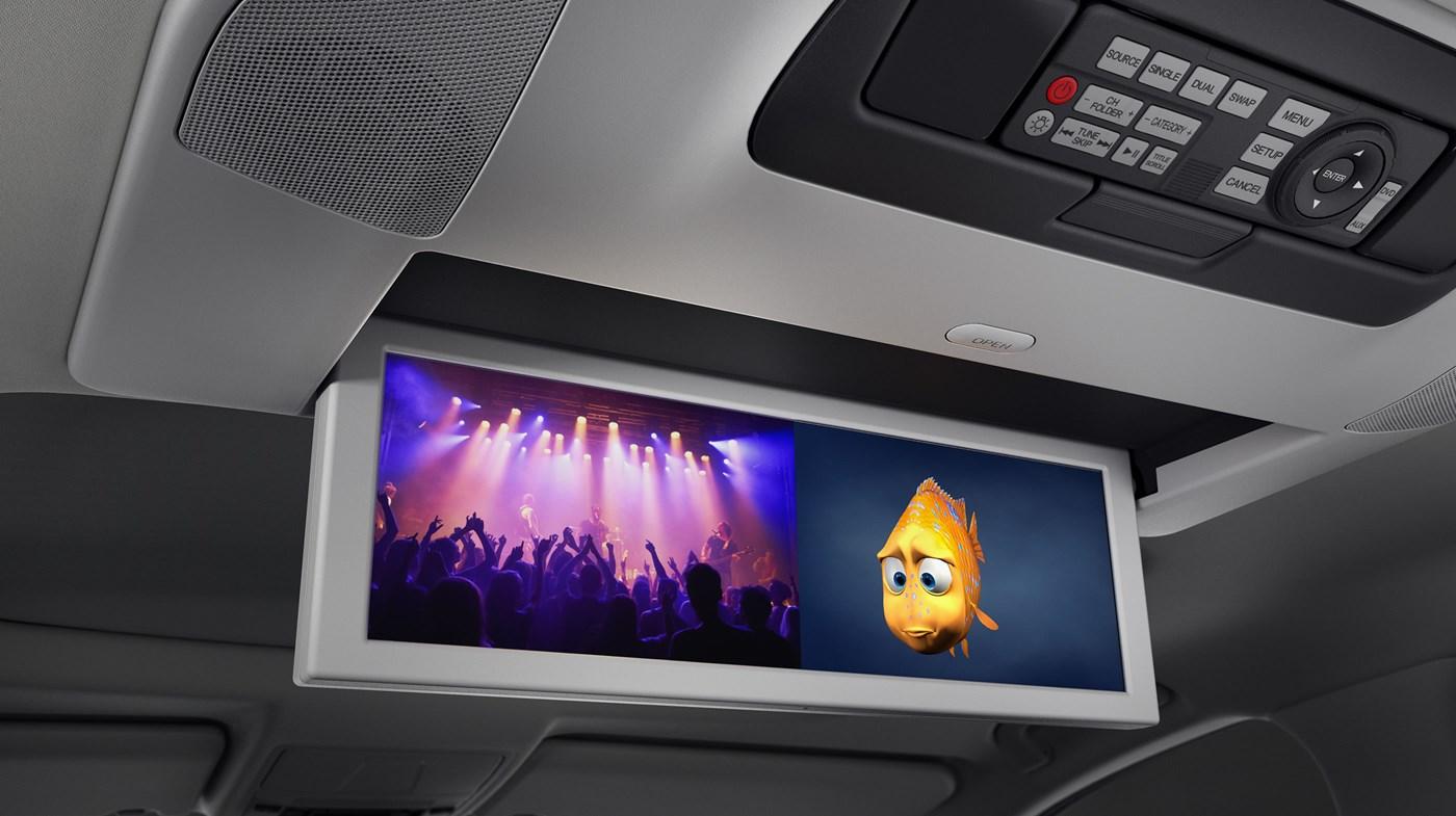 Enjoy Convenient Entertainment During Those Long Drives in the MDX!