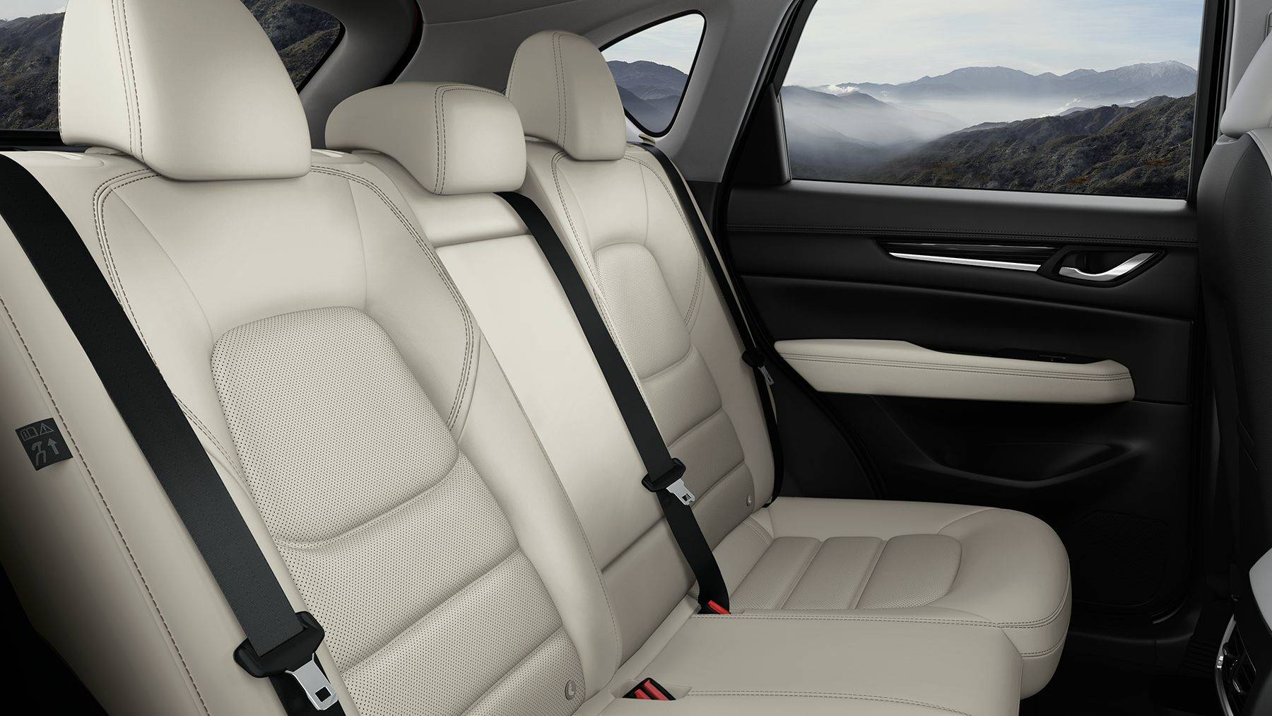 Spacious Second-Row Seating in the Mazda CX-5