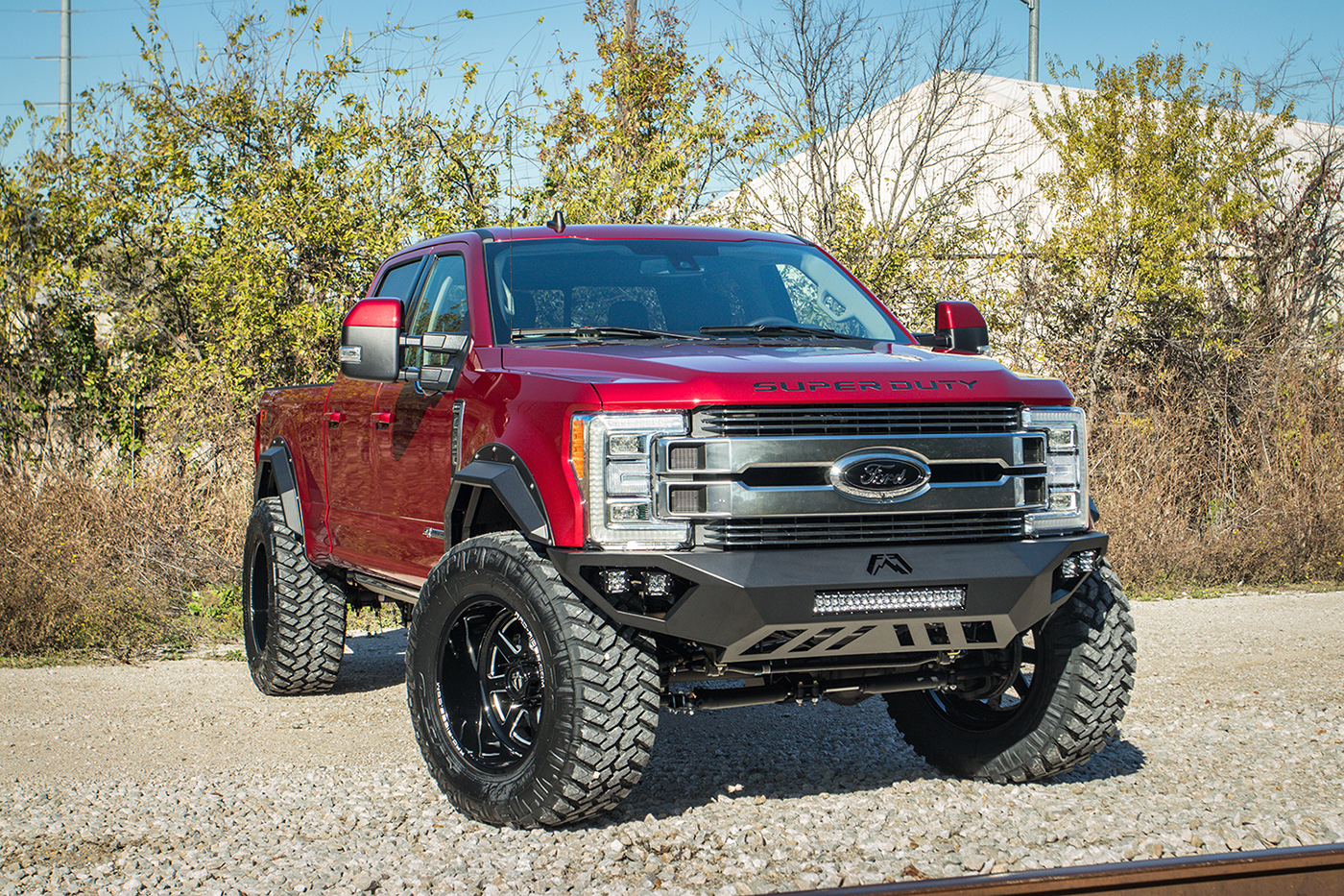 2019 Ford F 250 Limited 40s No Lift Customer Build Rad Rides
