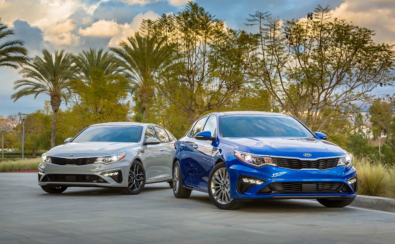 2019 Kia Optima Leasing near Converse, TX