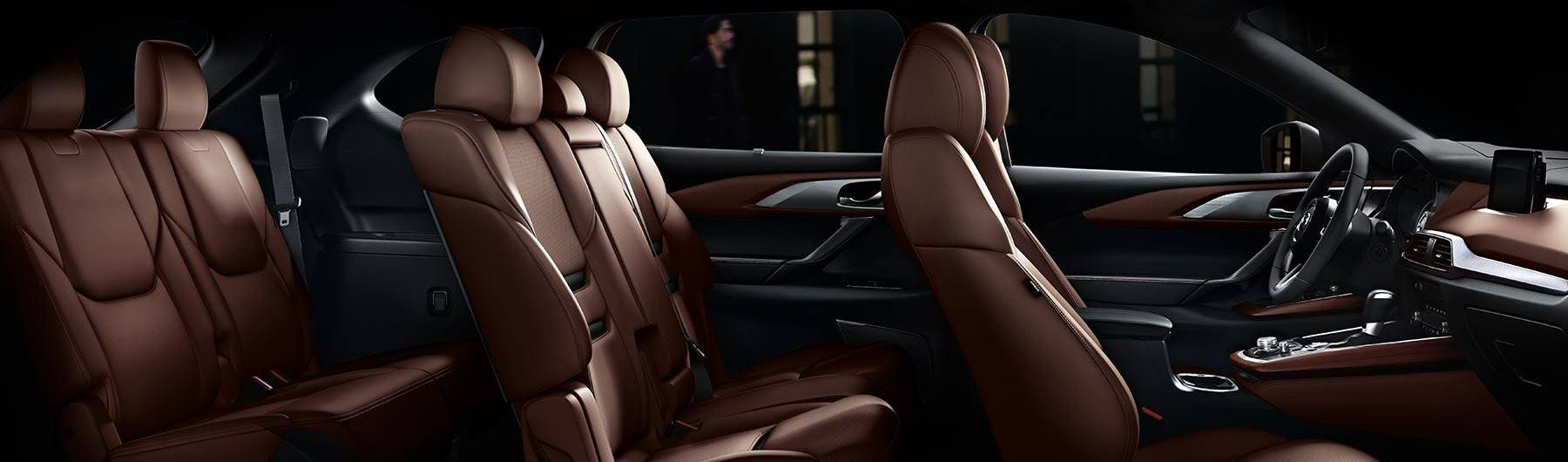 Seating for Seven in the Mazda CX-9!