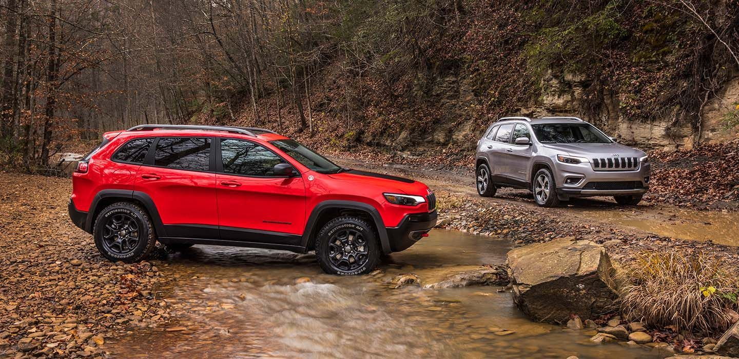 2019 Jeep Cherokee Leasing near Dallas, TX